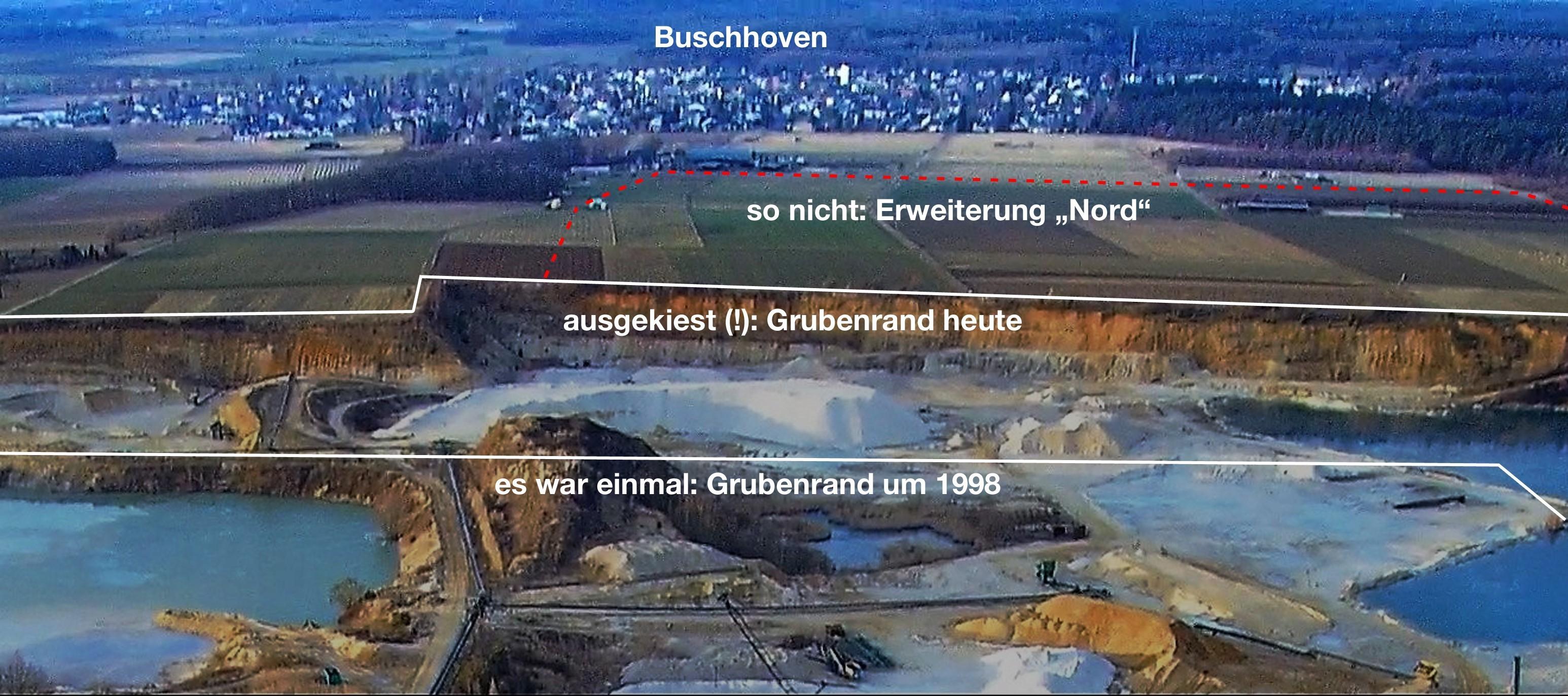Kiesabgrabung südlich Buschhoven